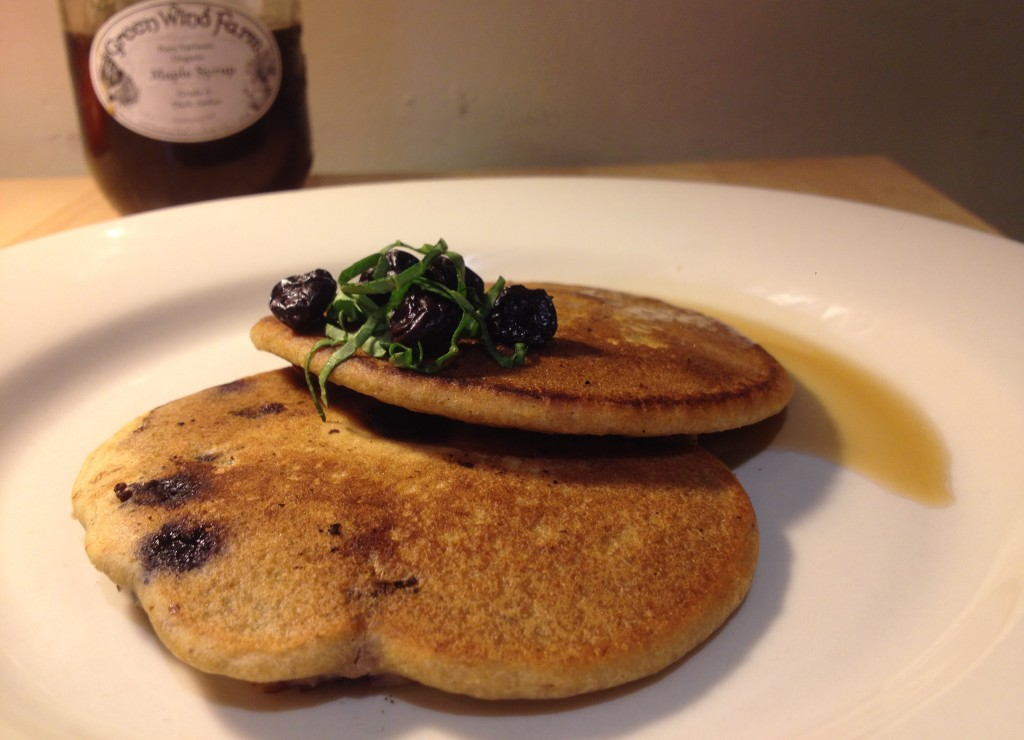 Light N' Fluffy Berry Pancakes