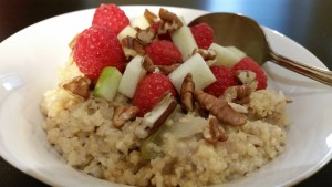 Millet-Apple Hot Cereal