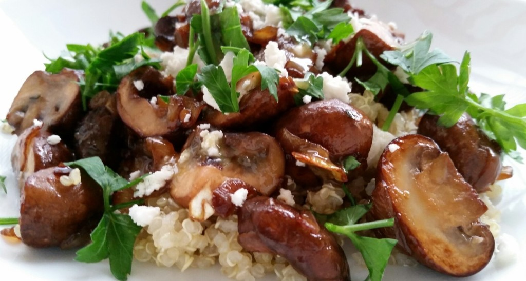 Warm Mushroom Salad