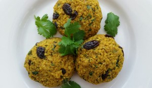 Indian Chickpeas Cakes