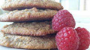 Raspberry-Rose Cookies