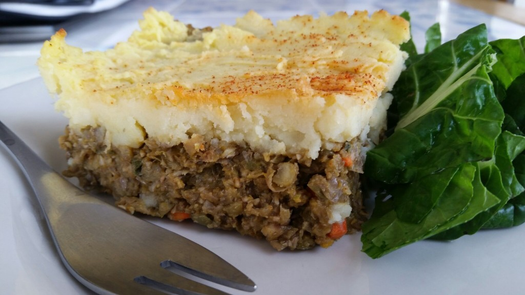 Thanksgiving Shepherd's Pie (Vegan)