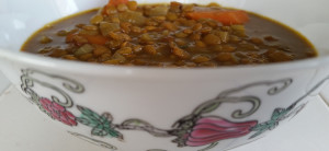 Warming Spiced Lentil Soup