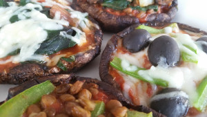 Portobello Mini Pizzas