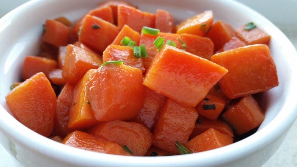 Wine-Braised Carrots with Butter and Chives
