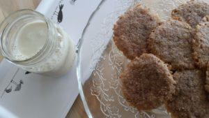 5-Ingredient Chewy Cinnamon Cookies (Vegan and Grain-Free!)
