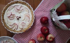 Apple-Ricotta Tart with Pumpkin Seed Crust
