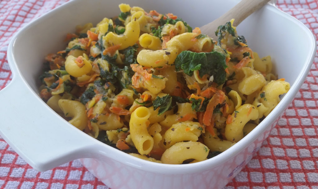 Kale Mac and Cheese