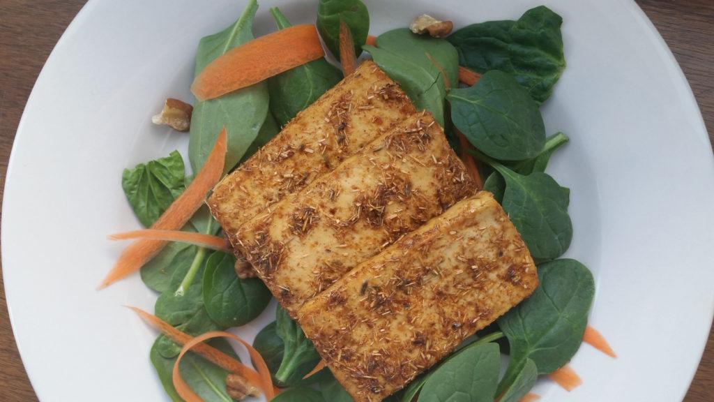 Lemongrass Baked Tofu