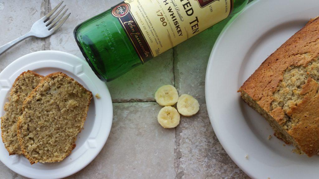 Irish Whiskey Banana Bread