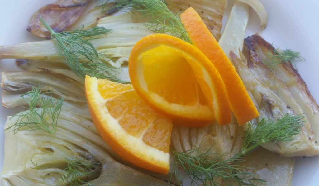 Simple Citrus-Roasted Fennel