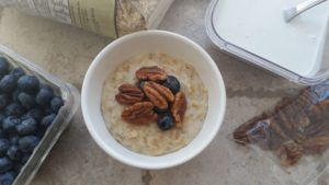 3-Ingredient Creamy Coconut Porridge