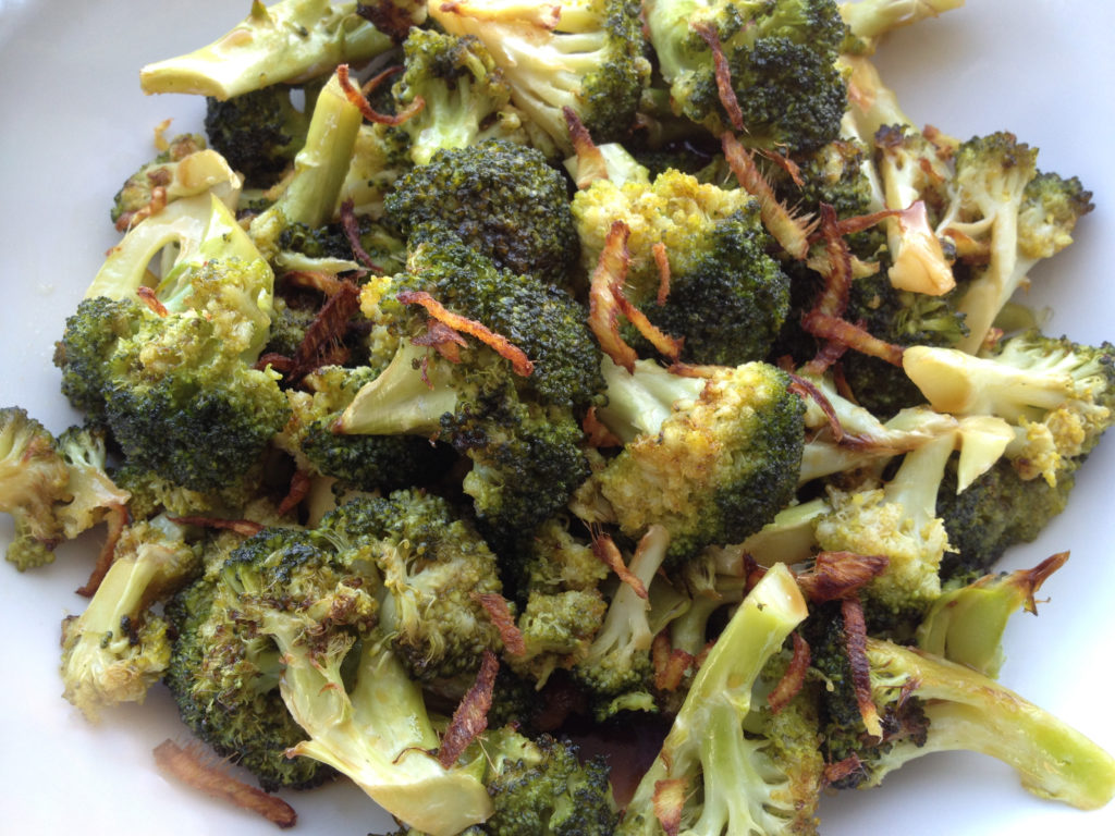 Chinese-Style Broccoli with Brown Sauce and Crispy Ginger (Soy-Free & Sugar-Free!)
