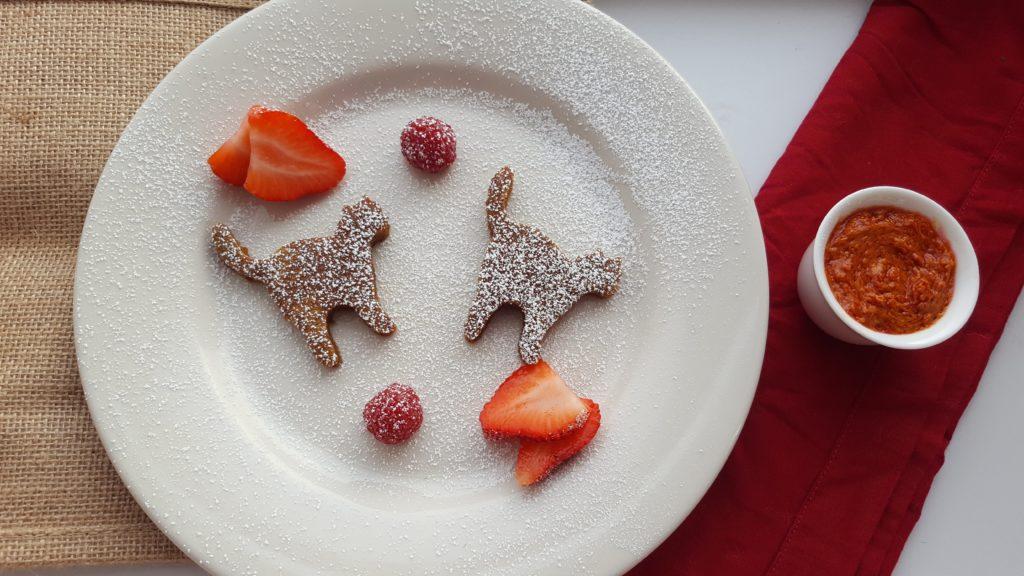 Red Velvet Pancakes (Baked!)